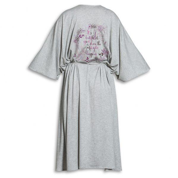 kimono grå WMY