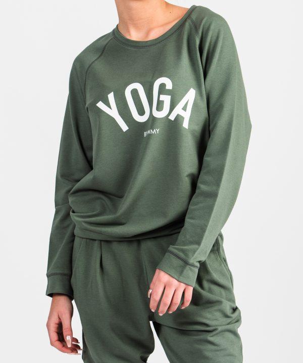 sweatshirt khakigrön WMY