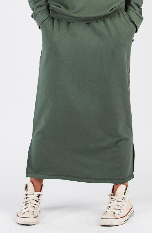 kjol khakigrön WMY