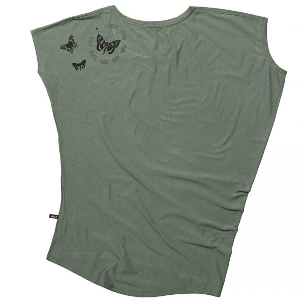 khaki grön tshirt