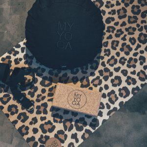 zafu yogamatta leopard
