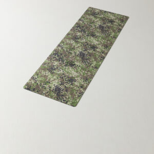 Camouflage Yoga Mat