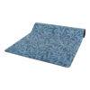 Yogamatta i W.Morris mönster i blått