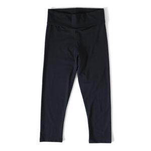 3/4 långa tights i färg svart