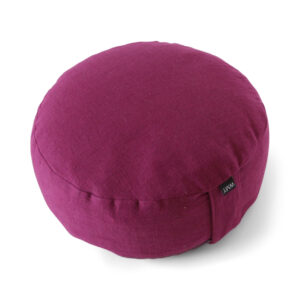 Purple Meditation Pouf
