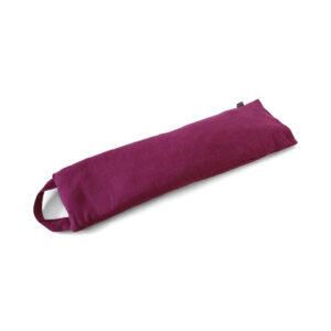 Purple Linen Cherry Pit Pillow